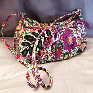Vera Bradley mini bag W/ matching wristlet wallet